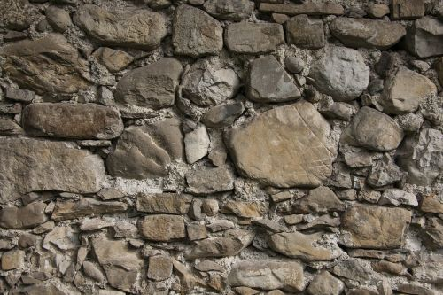 wall natural stone layered