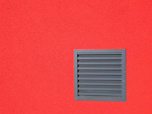 wall red facade