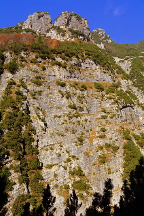 wall rock mountain
