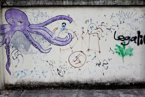 siena,gatvė,tekstūra,miesto,grafiti,Grunge,purvinas,Saunus,grafiti,grafiti,meno