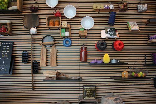 wall utensils wall decoration