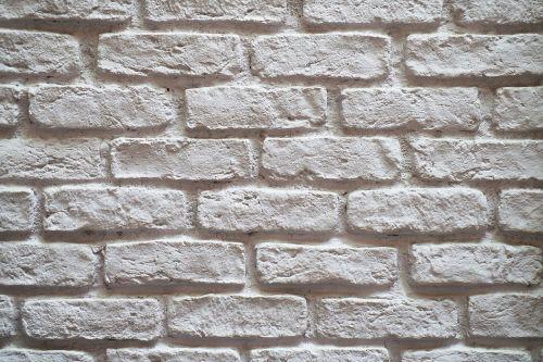 wall brick white