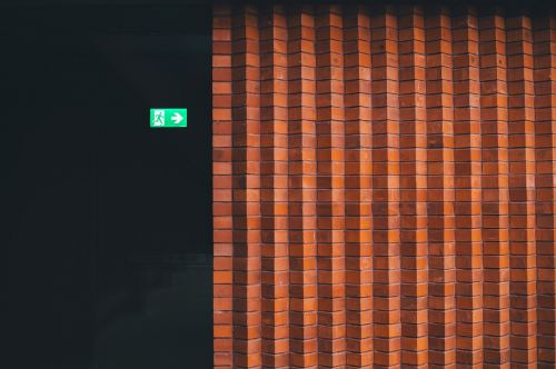 wall bricks concrete
