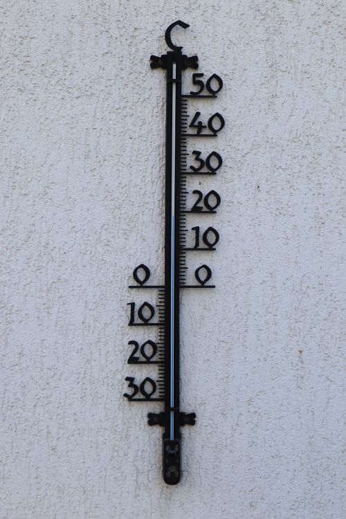 wall thermometer outdoor thermometer