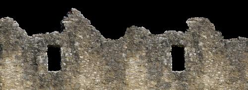 wall ruin castle