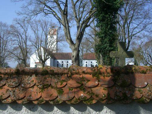 wall cemetery wall cemetery church