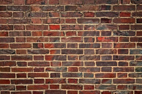 wall brick wall red brick wall