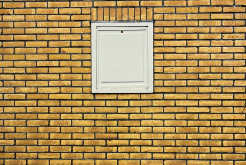 wall brick wall yellow brick wall