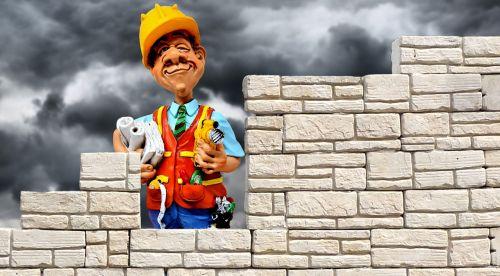 wall stone wall brick