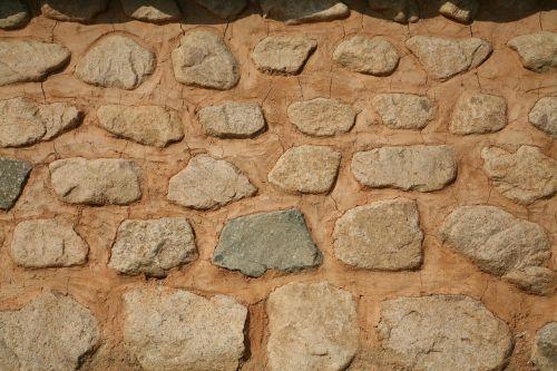 wall stone wall soil dam