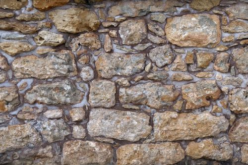 wall quarry stone stone wall