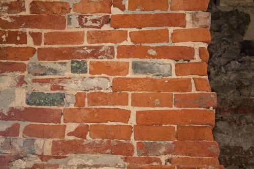 wall brick old