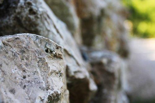 wall  stone  stones