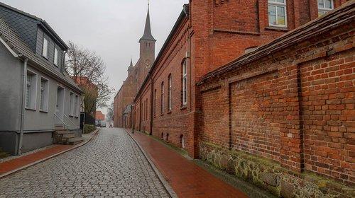 wall  monastery  ribnitz ut