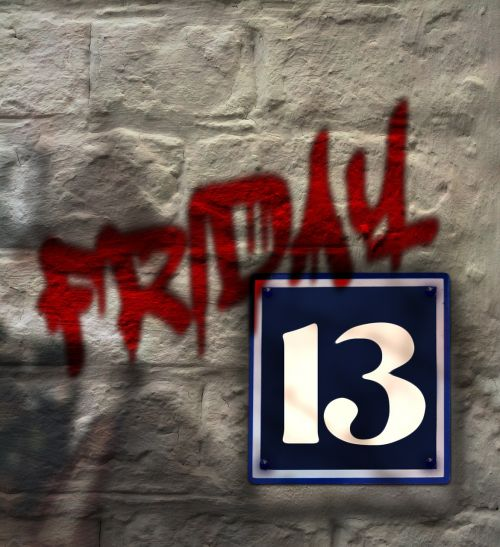 wall house number number
