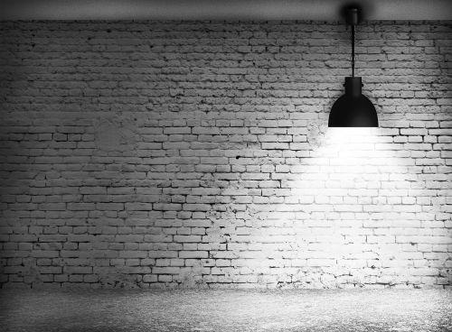 wall block light wall