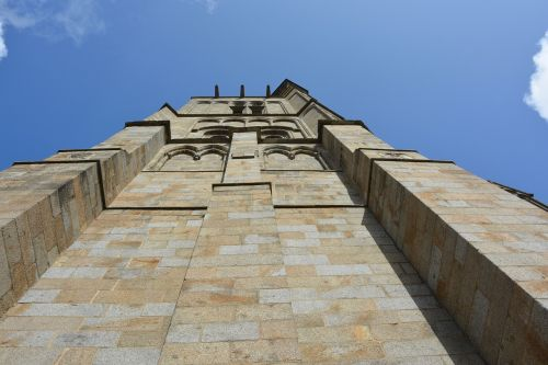 wall cathedral pillar tower