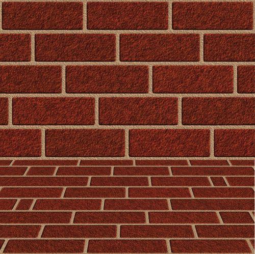 Wall Floor Red Brick
