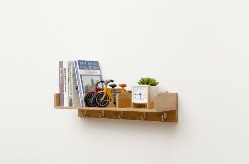 wall mount bookshelf racks