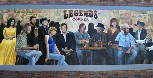 wall mural  country music  entertainment