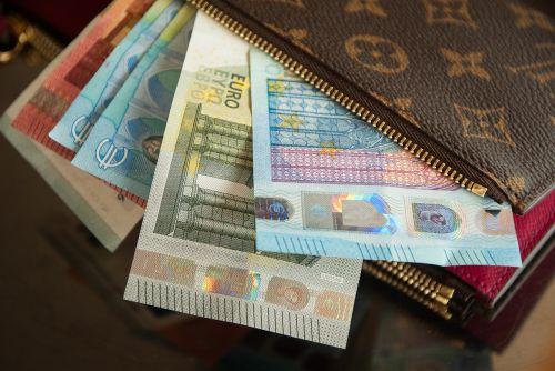 wallet vuitton euro