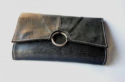wallet black clutch