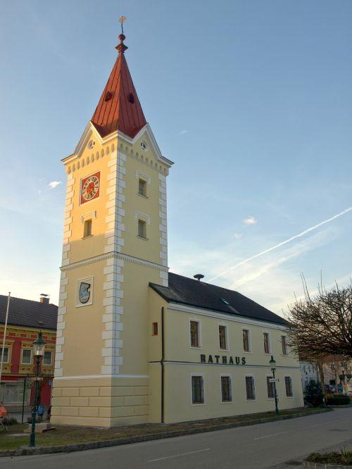 wallsee city hall town hall