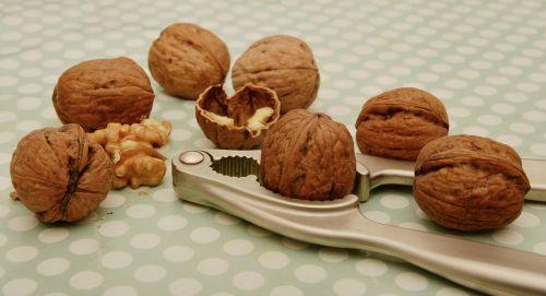 walnuts nutcracker fruit bowl