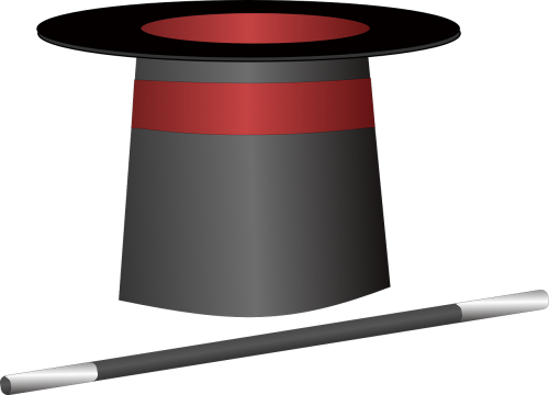 wand hat red