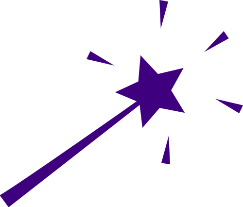 wand magic star