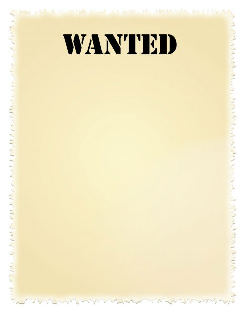 Wanted Poster Clip-art