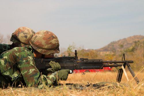 war shoot army