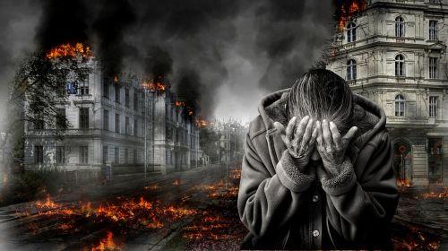 war destruction despair