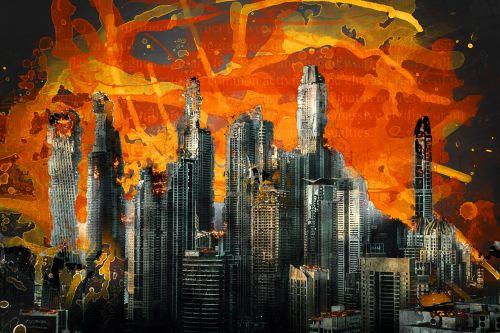 war destruction armageddon