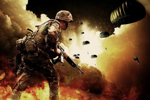 war soldiers warrior