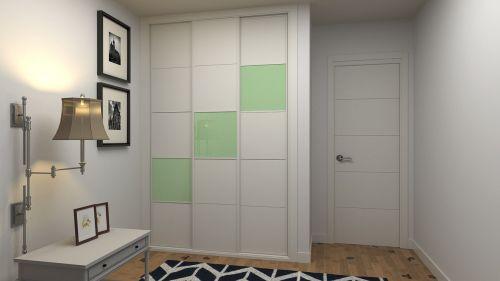 wardrobe sliding 3 front
