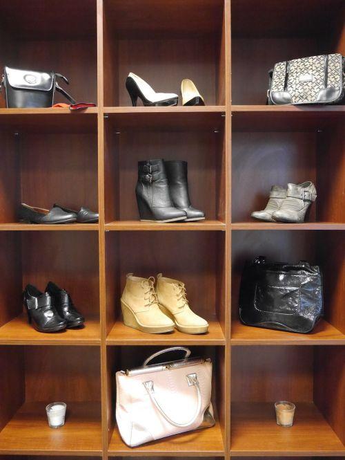wardrobe clothing handbags