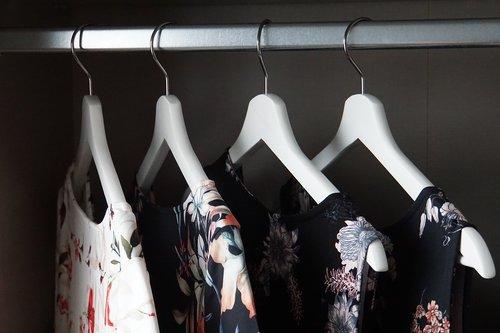 wardrobe  coat hanger  dress