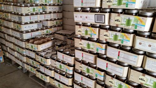 warehouse pallet food