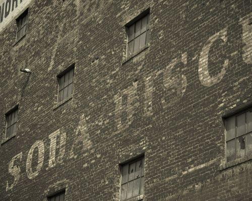 warehouse brick building