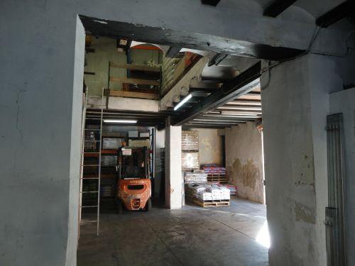 warehouse cement brick