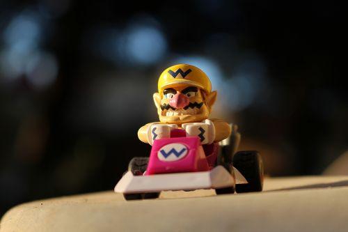 Wario,kart,Nintendo,žaislas,lauke,mario,fiktyvus asmuo