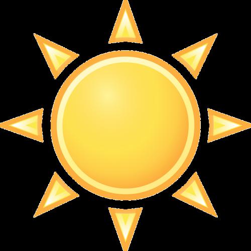 warm sunny sun