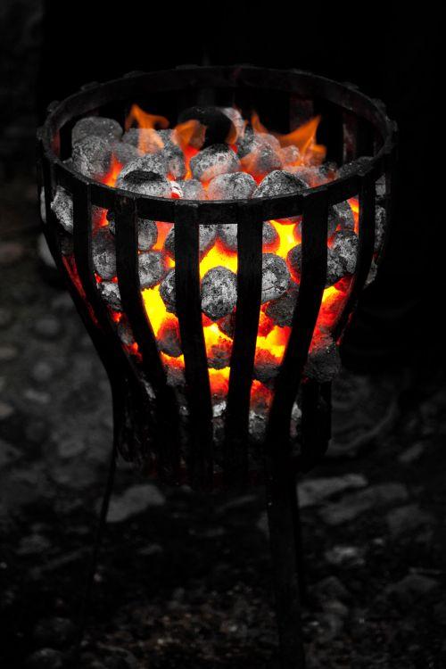 deginti, anglis, tamsi, vakaras, Ugnis, liepsna, šiluma, karštas, šviesa, oranžinė, lauke, lauke, lauke, šiltas, šiluma, geltona, šiltas ugnis lauke
