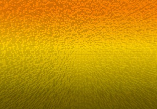 Warm Gold Extrusion Pattern