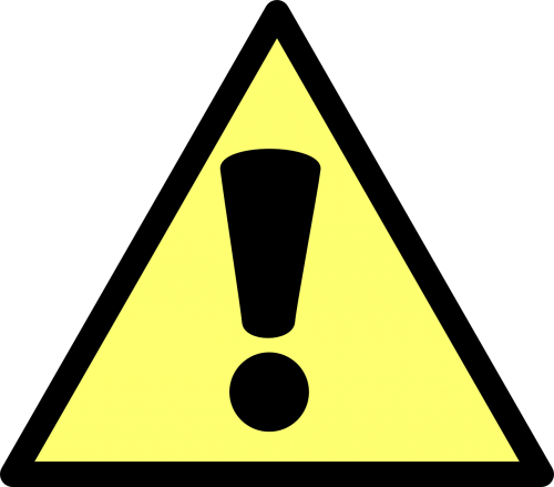 warning action caution