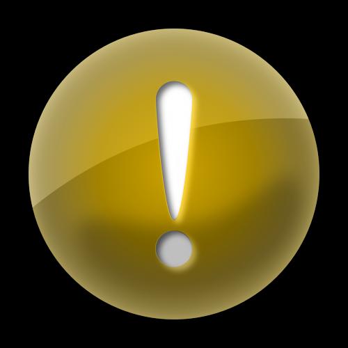 warning sign symbol
