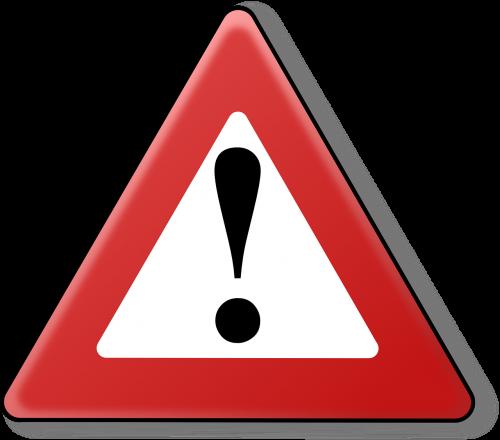 warning danger dangerous