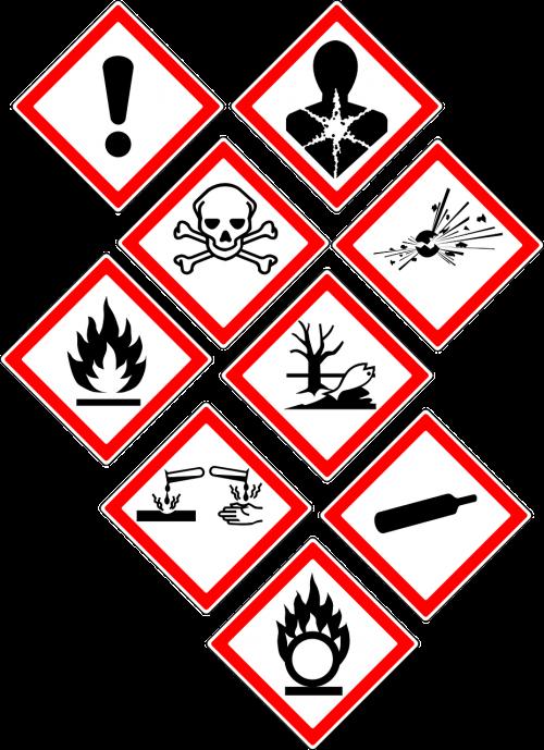 warning danger signs