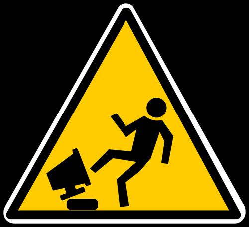 warning hazard stress